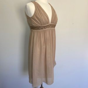 Democracy Gold/Bronze Cocktail Dress size 0